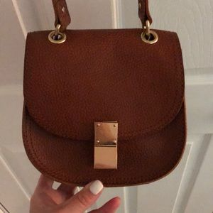 Abercrombie & Fitch Brown Leather Purse